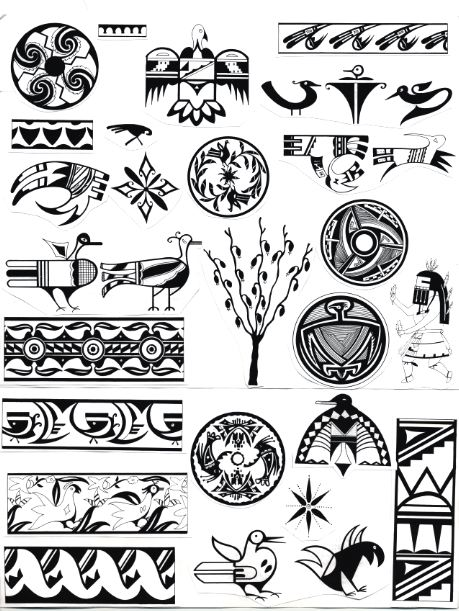 Native American Tribal Tattoos And Their Meanings Crazywidowfo